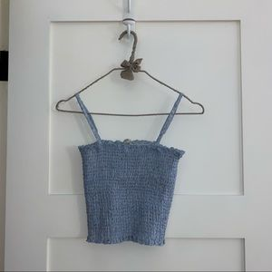 Brandy Melville ruched tank